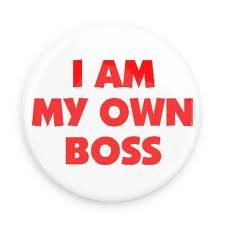 One day you can also become your own boss!
