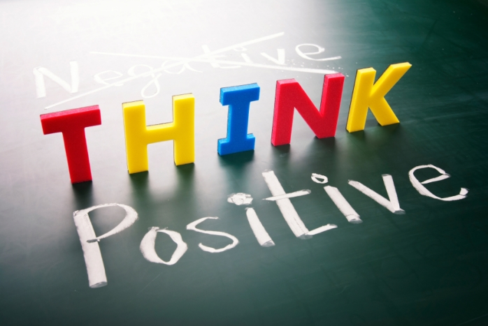 Think more POSITIVE than NEGATIVE and see how your life turns out!