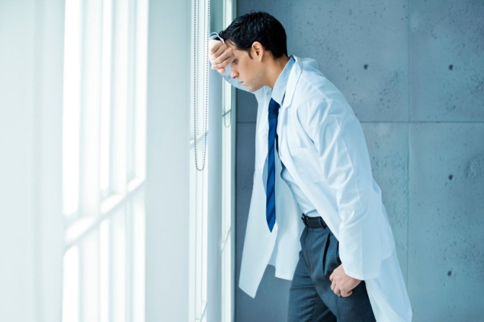 Depressed Medical Student